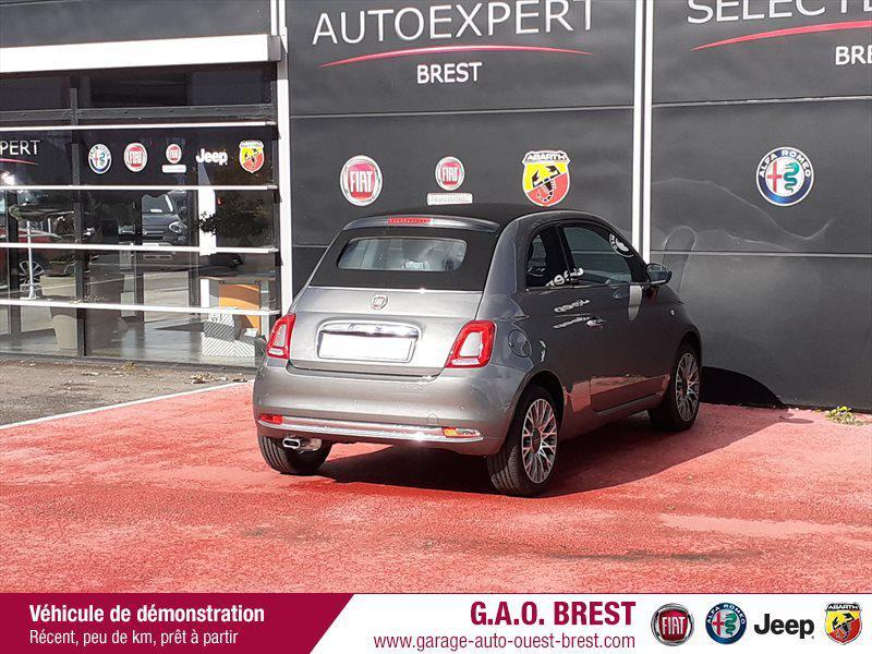 Photo 7 de l'offre de FIAT 500C 1.2 8v 69ch S&S Star   Dualogic à 16990€ chez Garage Auto de l'Ouest - Brest