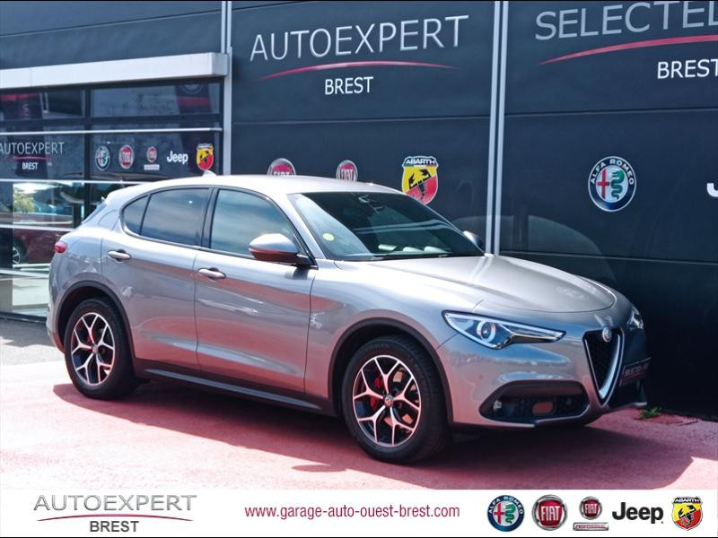 Alfa Romeo Stelvio 2.2 Diesel 180ch Sport Edition AT8 Diesel Gris Stromboli Occasion à vendre