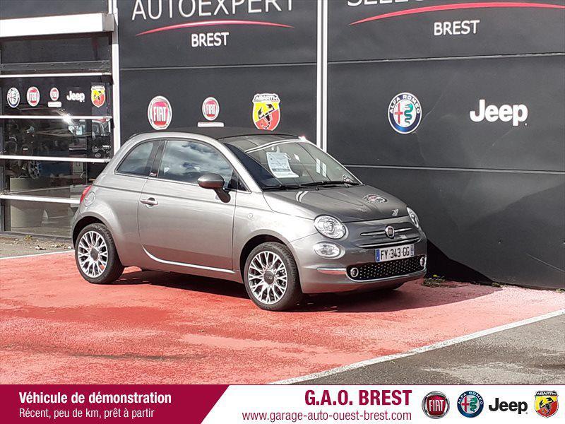 Photo 1 de l'offre de FIAT 500C 1.2 8v 69ch S&S Star   Dualogic à 16990€ chez Garage Auto de l'Ouest - Brest