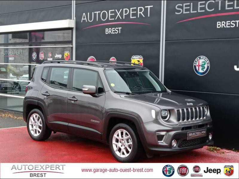 Jeep Renegade 1.6 MultiJet 120ch Limited Diesel Granite Crystal Occasion à vendre