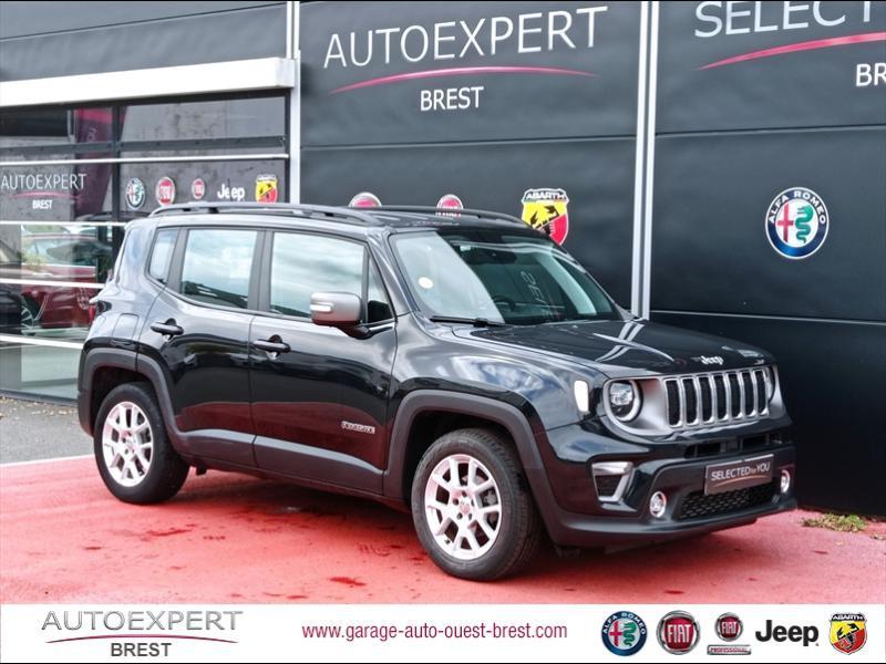 Jeep Renegade 1.6 MultiJet S&S 120ch Limited Diesel Carbon Black métallisé Occasion à vendre