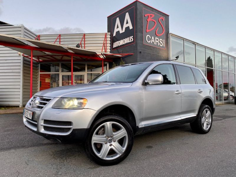 Volkswagen Touareg 3.0 V6 TDI Carat Tiptronic Fap Essence Gris Occasion à vendre