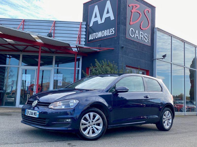 Volkswagen Golf VII CONFORTLINE 1.6 TDI Essence Bleu Occasion à vendre