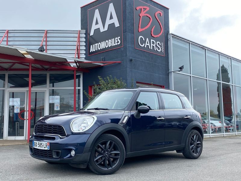 Mini Countryman COUNTRYMAN S PACK CHILI Diesel Bleu Occasion à vendre