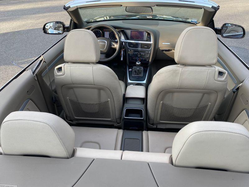 Photo 7 de l'offre de AUDI A5 Cabriolet 1.8 TFSI 160ch Ambition Luxe à 13990€ chez AA automobiles