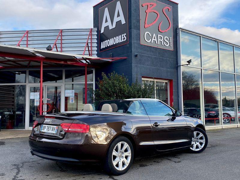 Photo 3 de l'offre de AUDI A5 Cabriolet 1.8 TFSI 160ch Ambition Luxe à 13990€ chez AA automobiles