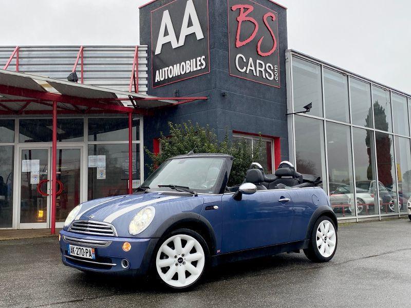 Mini Mini cooper Convertible MINI COOPER CABRIOLET 115CV Essence Bleu Occasion à vendre