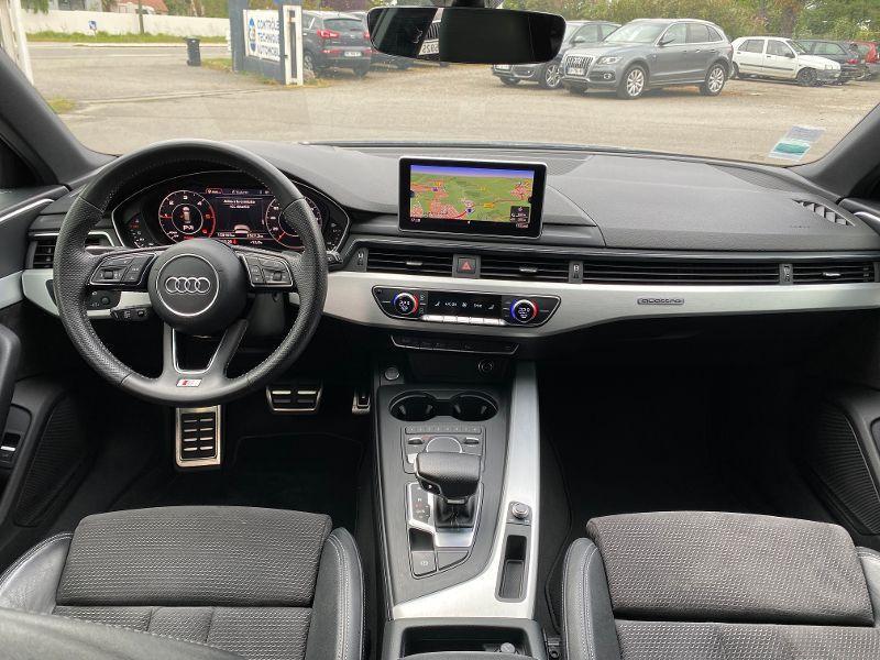 Photo 6 de l'offre de AUDI A4 Avant 3.0 TDI S-LINE S-TRONIC 272CV à 23990€ chez AA automobiles