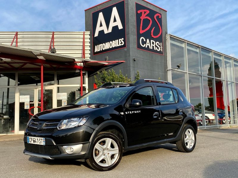 Dacia Sandero 1.5 dCi 90ch FAP Stepway Euro 5 Diesel Noir Occasion à vendre