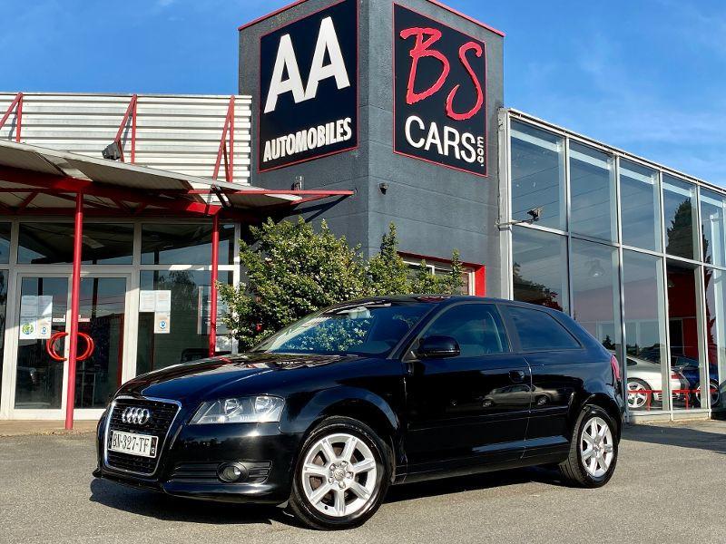 Audi A3 1.9 TDI 105ch Ambiente 3p Diesel Noir Occasion à vendre