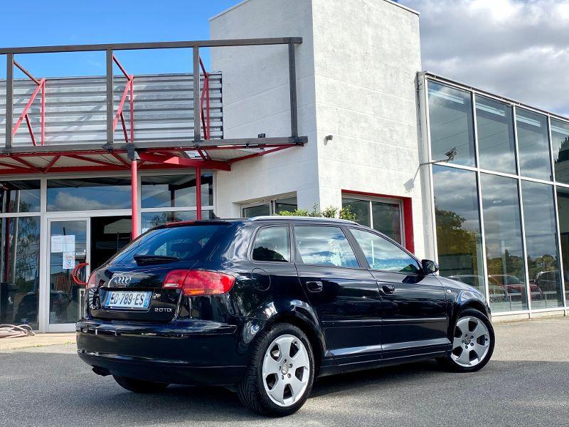 Photo 2 de l'offre de AUDI A3 Sportback 2.0 TDI 140ch Ambition à 5990€ chez AA automobiles