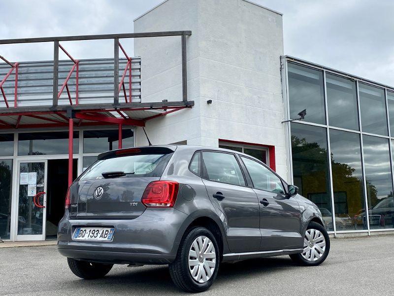 Photo 2 de l'offre de VOLKSWAGEN Polo 1.2 TDI 75ch FAP Trendline 5p à 5990€ chez AA automobiles