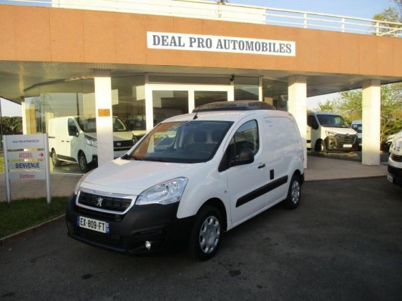 Peugeot PARTNER STANDARD 1.6 BLUEHDI 100CH PREMIUM PACK Diesel BLANC Occasion à vendre