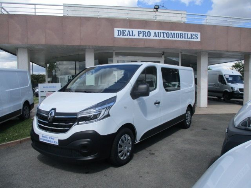 Renault TRAFIC III FG L2H1 1200 1.6 DCI 145CH ENERGY CABINE APPROFONDIE GRAND CONFORT EURO6 Diesel BLANC Occasion à vendre