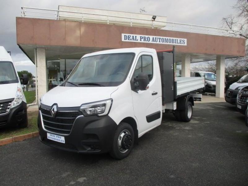 Renault MASTER III BENNE R3500RJ L3 2.3 DCI 145CH ENERGY +COFFRE CONFORT EUROVI Diesel BLANC Occasion à vendre
