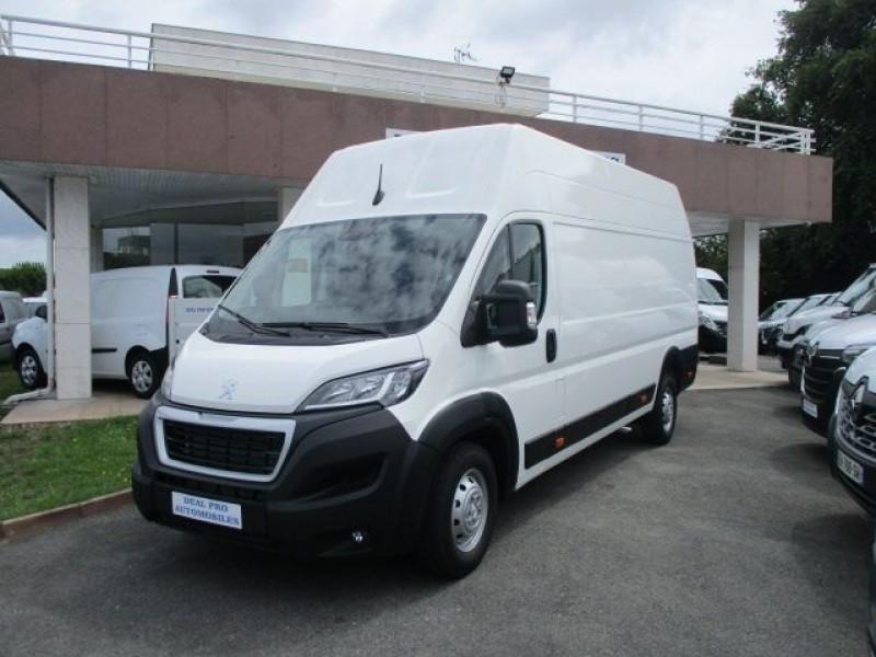 Peugeot BOXER FG 435 L4H3 2.2 BLUEHDI S&S 140CH ASPHALT Diesel BLANC Occasion à vendre