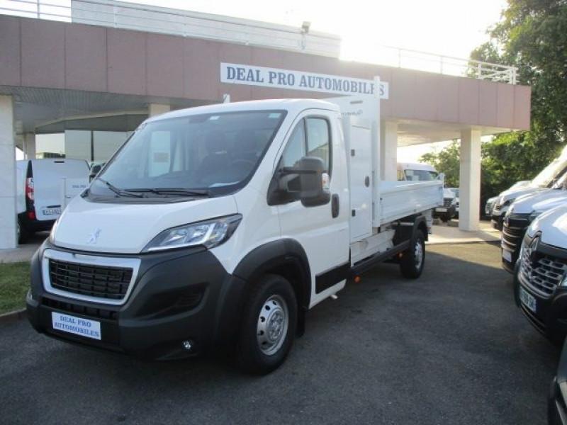 Peugeot BOXER BENNE 435 L3 2.2 BLUEHDI 165 S&S Diesel BLANC Occasion à vendre