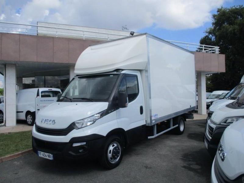 Iveco DAILY CCB 35C16 CAISSE 20 M3+HAYON Diesel BLANC Occasion à vendre