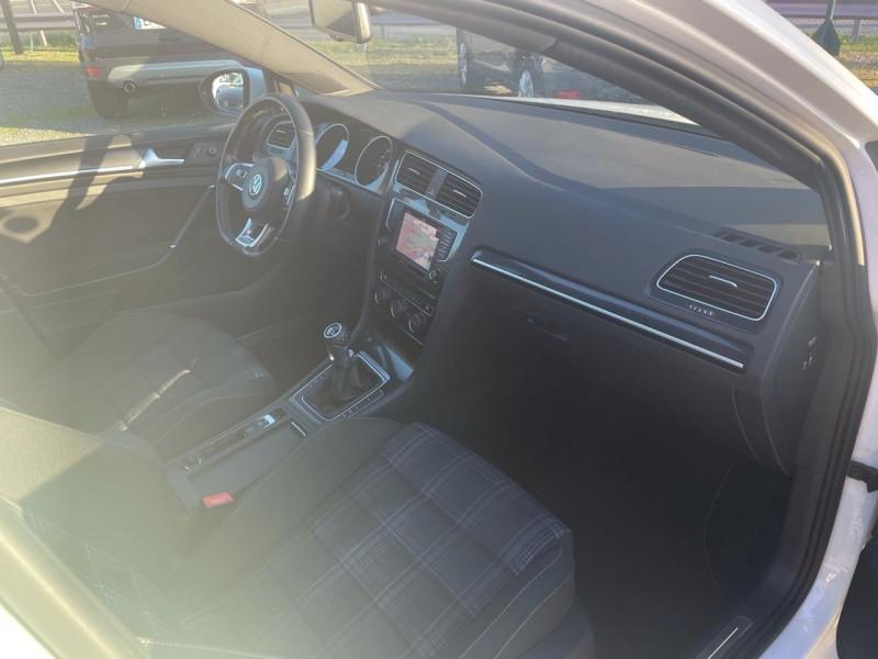 Photo 7 de l'offre de VOLKSWAGEN GOLF VII SW 2.0 TDI 184CH BLUEMOTION TECHNOLOGY FAP GTD à 15290€ chez Jeammet automobiles