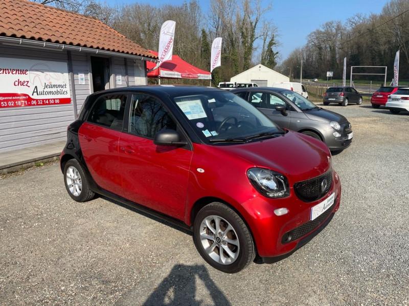 Photo 2 de l'offre de SMART FORFOUR 71CH PASSION à 9990€ chez Jeammet automobiles
