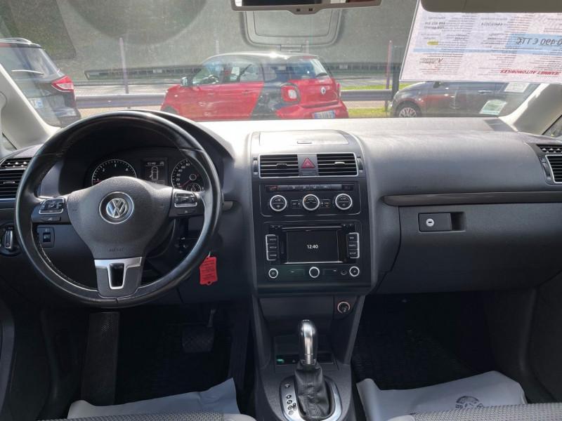 Photo 5 de l'offre de VOLKSWAGEN TOURAN 2.0 TDI 140CH BLUEMOTION TECHNOLOGY FAP CONFORTLINE DSG6 à 10290€ chez Jeammet automobiles