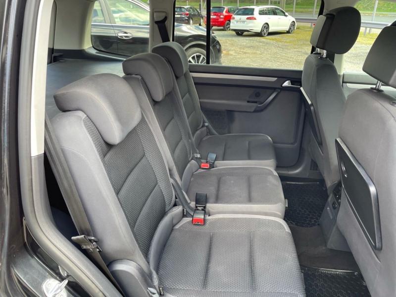 Photo 14 de l'offre de VOLKSWAGEN TOURAN 2.0 TDI 140CH BLUEMOTION TECHNOLOGY FAP CONFORTLINE DSG6 à 10290€ chez Jeammet automobiles