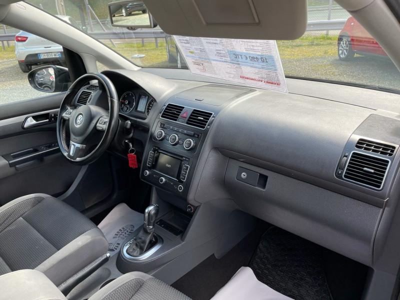 Photo 7 de l'offre de VOLKSWAGEN TOURAN 2.0 TDI 140CH BLUEMOTION TECHNOLOGY FAP CONFORTLINE DSG6 à 10290€ chez Jeammet automobiles