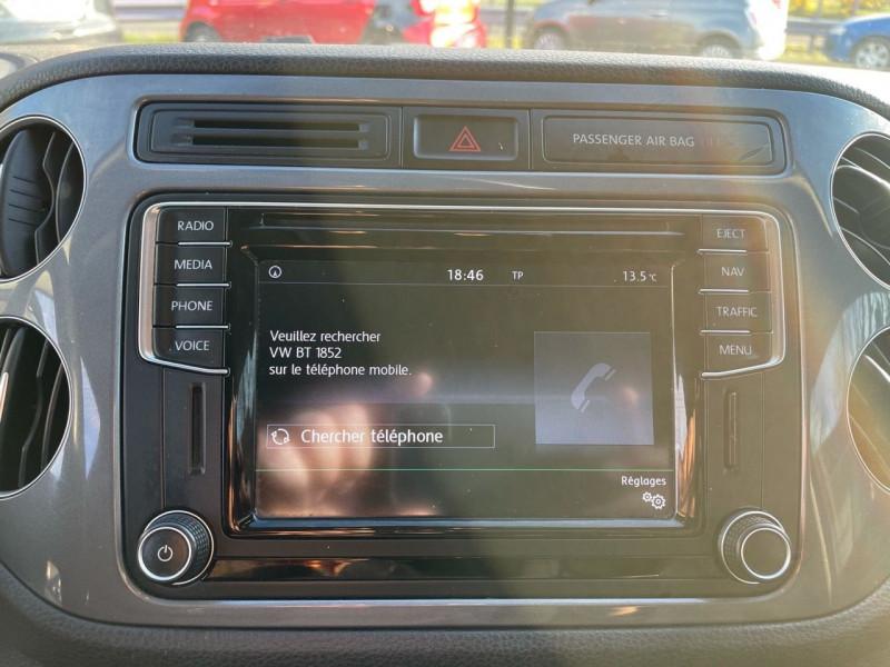 Photo 9 de l'offre de VOLKSWAGEN TIGUAN 2.0 TDI 150CH BLUEMOTION TECHNOLOGY FAP SPORTLINE BUSINESS à 15490€ chez Jeammet automobiles