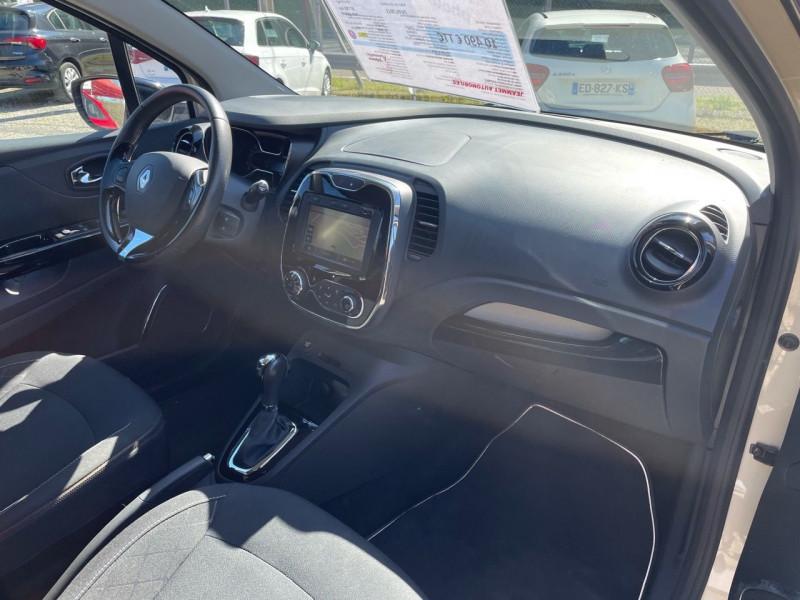 Photo 7 de l'offre de RENAULT CAPTUR 1.2 TCE 120CH INTENS EDC à 9990€ chez Jeammet automobiles