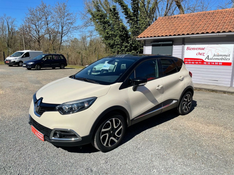 Renault CAPTUR 1.2 TCE 120CH INTENS EDC Essence BLANC Occasion à vendre