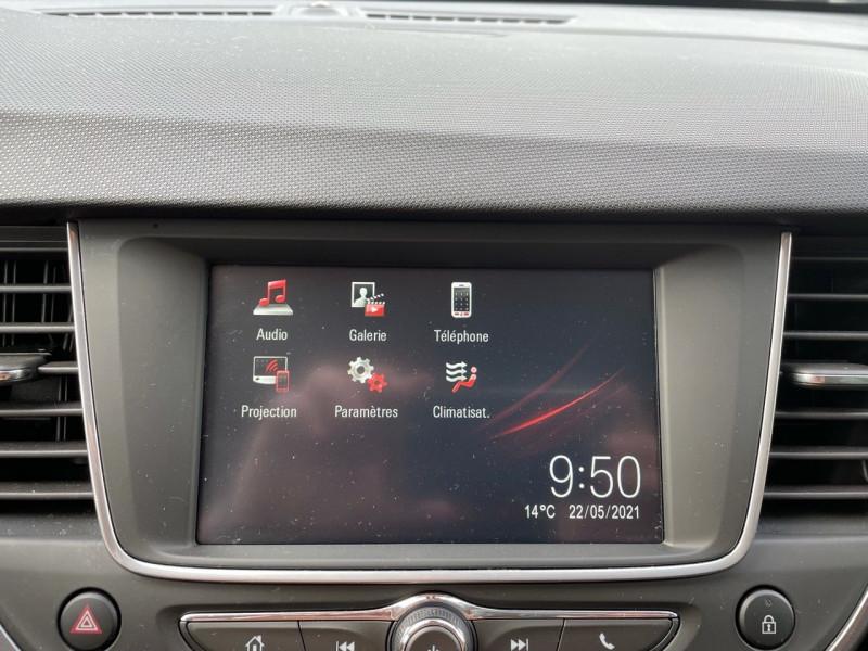Photo 9 de l'offre de OPEL CROSSLAND X 1.2 TURBO 110CH INNOVATION BVA à 14990€ chez Jeammet automobiles