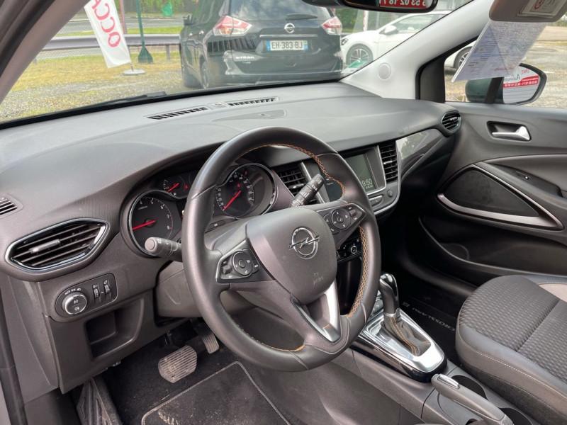 Photo 6 de l'offre de OPEL CROSSLAND X 1.2 TURBO 110CH INNOVATION BVA à 14990€ chez Jeammet automobiles