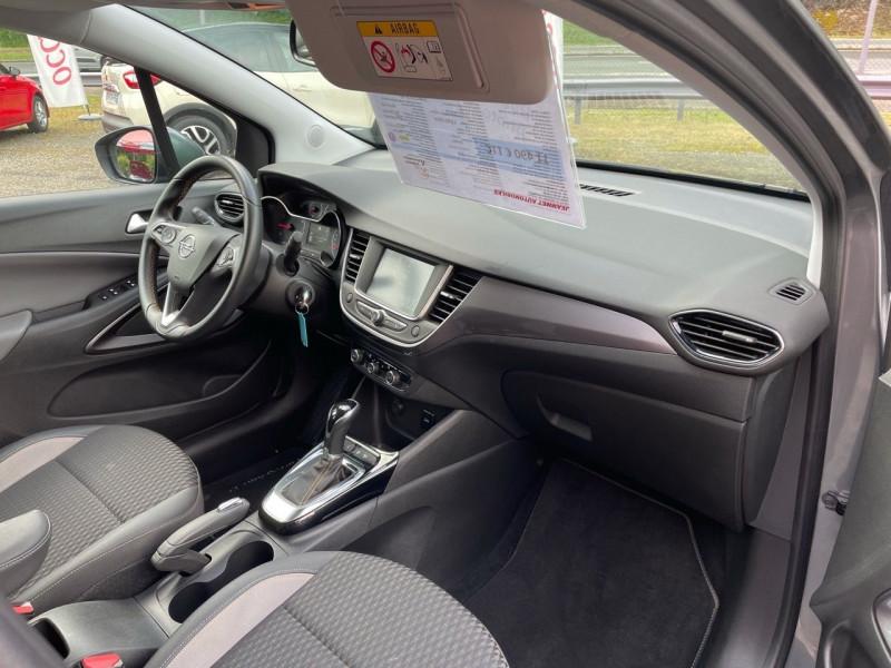 Photo 7 de l'offre de OPEL CROSSLAND X 1.2 TURBO 110CH INNOVATION BVA à 14990€ chez Jeammet automobiles