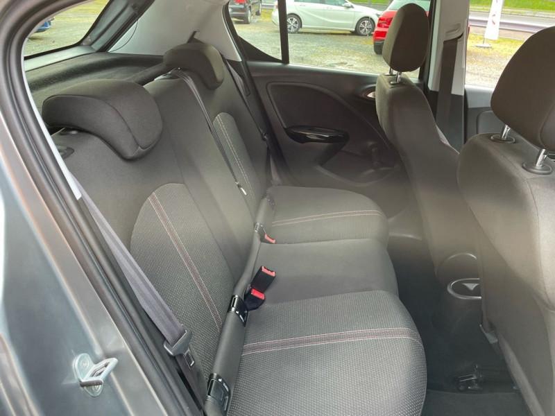 Photo 11 de l'offre de OPEL CORSA 1.4 TURBO 100CH BLACK EDITION START/STOP 5P à 11490€ chez Jeammet automobiles