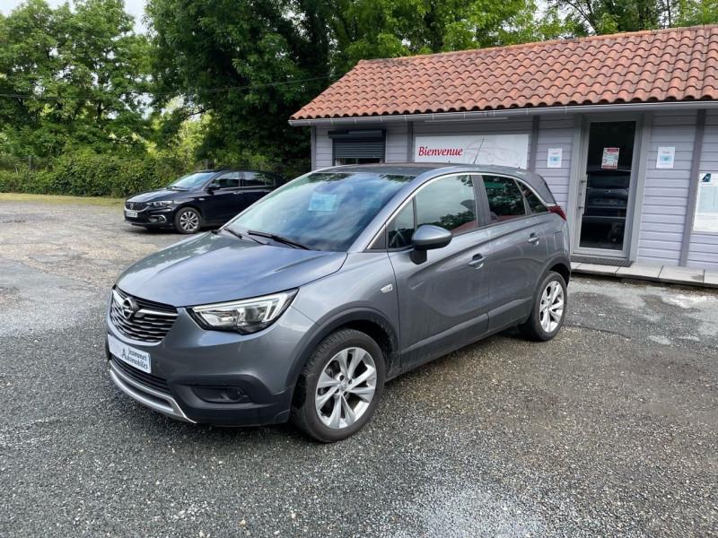 Opel CROSSLAND X 1.2 TURBO 110CH INNOVATION BVA Essence GRIS FONCE Occasion à vendre