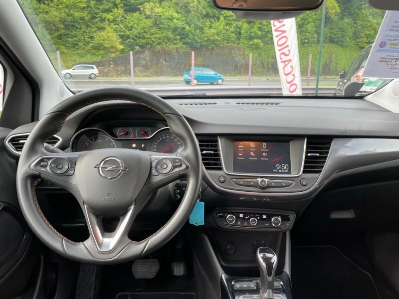Photo 5 de l'offre de OPEL CROSSLAND X 1.2 TURBO 110CH INNOVATION BVA à 14990€ chez Jeammet automobiles