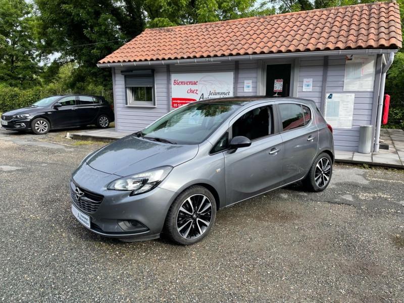 Opel CORSA 1.4 TURBO 100CH BLACK EDITION START/STOP 5P Essence GRIS FONCE Occasion à vendre