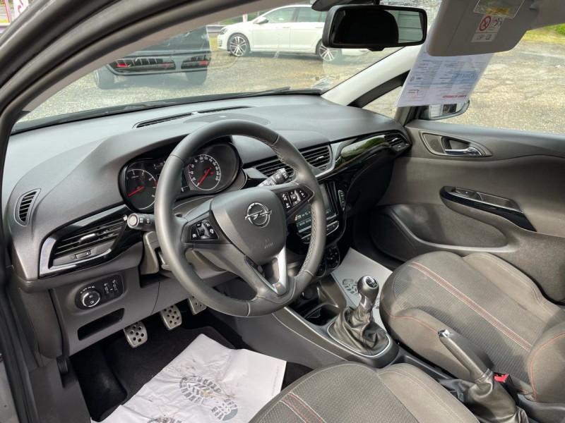 Photo 6 de l'offre de OPEL CORSA 1.4 TURBO 100CH BLACK EDITION START/STOP 5P à 11490€ chez Jeammet automobiles