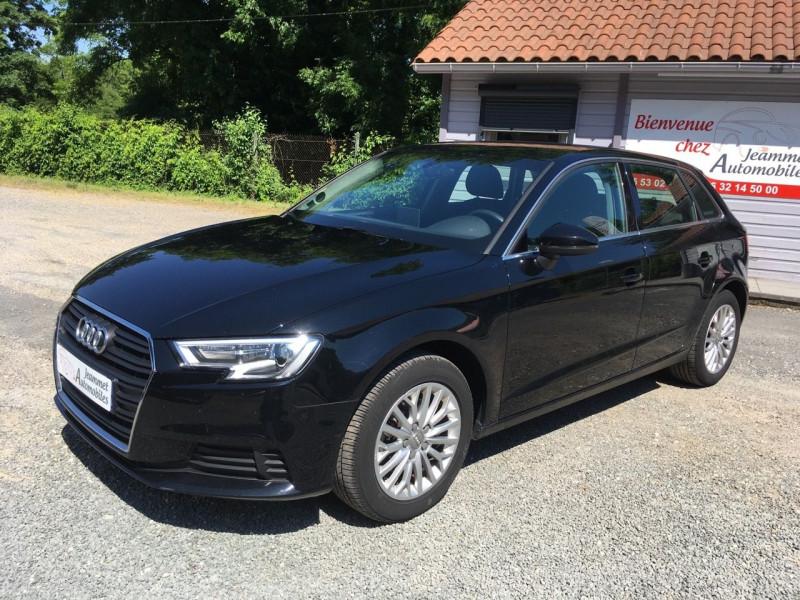 Audi A3 SPORTBACK 1.6 TDI 116CH BUSINESS LINE S TRONIC 7 Diesel NOIR Occasion à vendre