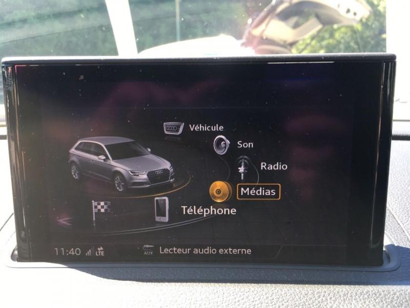Photo 12 de l'offre de AUDI A3 SPORTBACK 1.6 TDI 116CH BUSINESS LINE S TRONIC 7 à 17490€ chez Jeammet automobiles
