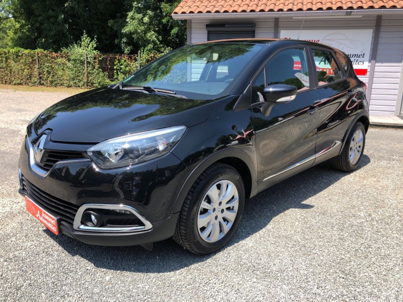 Renault CAPTUR 1.5 DCI 90CH STOP&START ENERGY BUSINESS ECO² Diesel NOIR Occasion à vendre