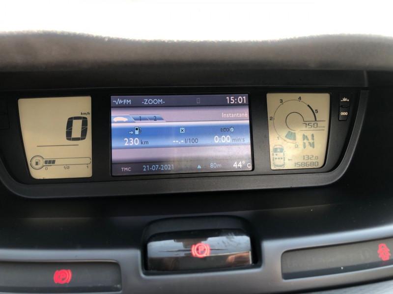 Photo 7 de l'offre de CITROEN C4 PICASSO 1.6 E-HDI 110CH FAP EXCLUSIVE BMP6 à 6490€ chez Jeammet automobiles