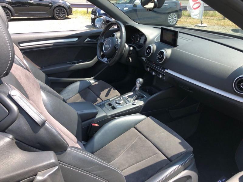 Photo 9 de l'offre de AUDI A3 CABRIOLET 1.4 TFSI 125CH S LINE S TRONIC 7 à 17990€ chez Jeammet automobiles