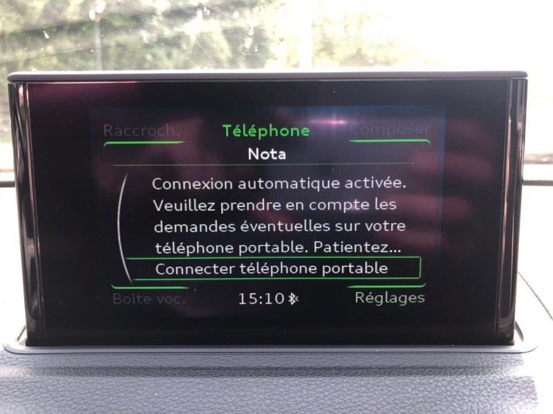 Photo 11 de l'offre de AUDI A3 CABRIOLET 1.4 TFSI 125CH S LINE S TRONIC 7 à 17990€ chez Jeammet automobiles