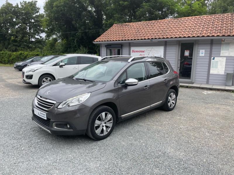 Peugeot 2008 1.6 BLUEHDI 100CH ALLURE BUSINESS S&S Diesel GRIS FONCE Occasion à vendre