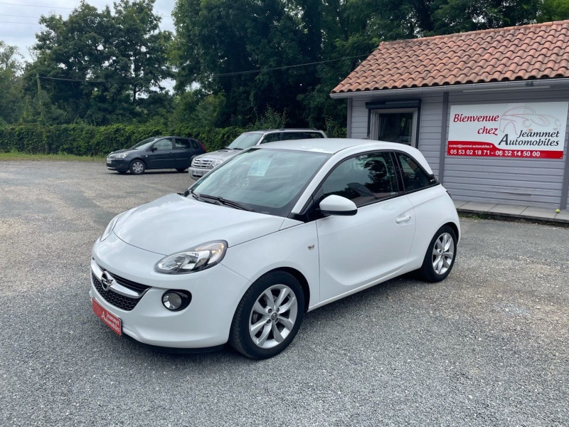 Opel ADAM 1.4 TWINPORT 87CH UNLIMITED START/STOP Essence BLANC Occasion à vendre