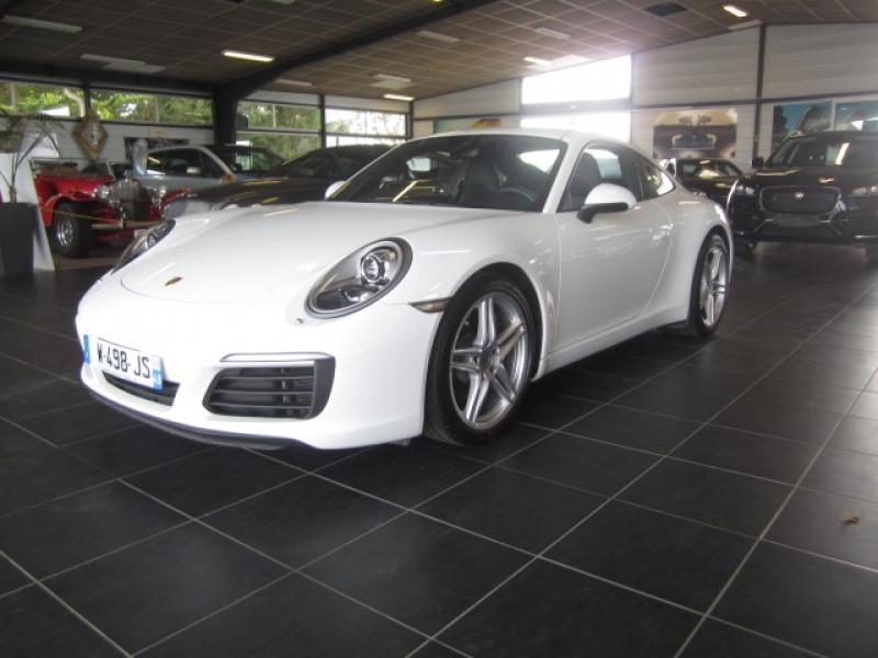 Porsche 911 COUPE (991) 3.0 370CH Essence BLANC Occasion à vendre