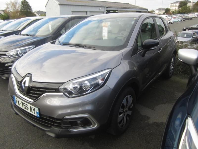 Renault CAPTUR 0.9 TCE 90CH ENERGY BUSINESS EURO6C Essence GRIS C Occasion à vendre