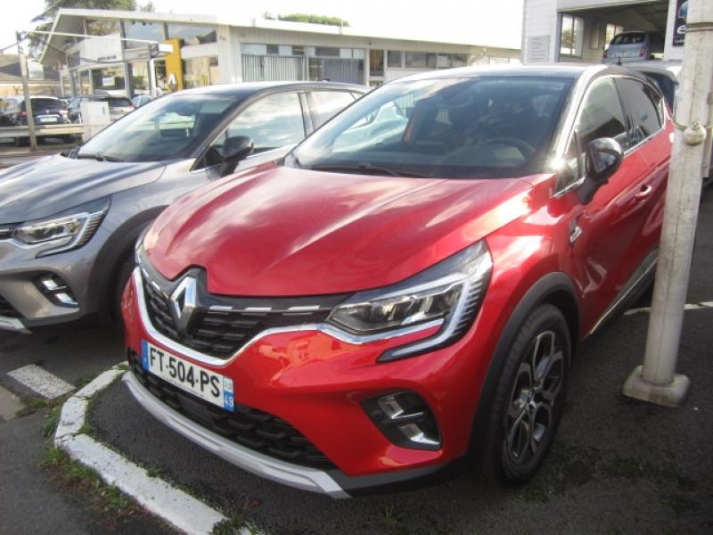 Renault CAPTUR II 1.6 E-TECH PLUG-IN 160CH INTENS Hybride ROUGE Occasion à vendre