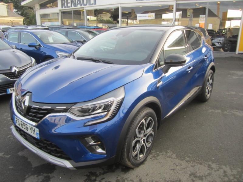 Renault CAPTUR II 1.3 TCE 155CH FAP INTENS EDC - 20 Essence BLEU Occasion à vendre